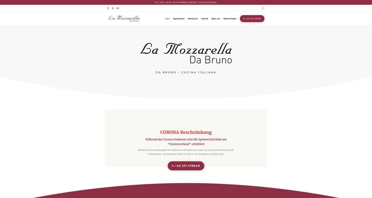 mozzarella website