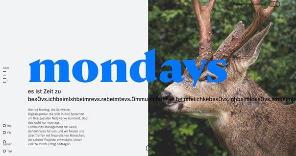 Mondays – Immer in Bewegung bleiben!