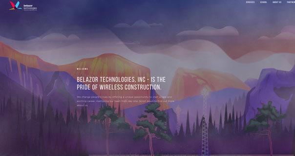 Belazortech – Farben & Animationen im Einklang