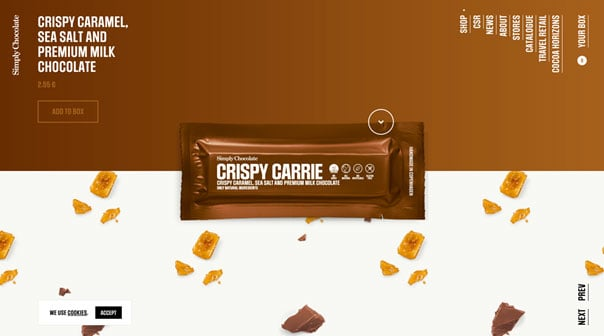 Simply Chocolate – da bekommt man Hunger!