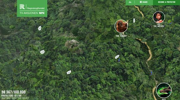 Rainforest - Rettet den Regenwald